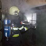 Brand in schuur uitgebroken aan de Solidarnoscstraat
