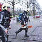 Vloer weggezaagd bij woningbrand aan de Kerklaan in Heemstede