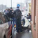 Meisje gewond na botsing met auto op de Spaarndamseweg