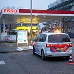 Overval op Esso tankstation aan de Schipholweg in Haarlem