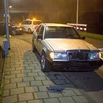 Auto's op elkaar gebotst op de Vijfhuizerdijk in Vijfhuizen