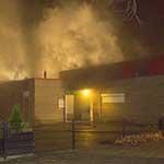 Brand bij jongerencentrum Futurzz Dock in Haarlem