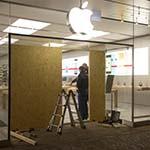 Ramkraak op Apple Store in Haarlem