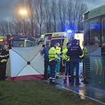 Voetganger overleden na aanrijding met bus in Hoofddorp