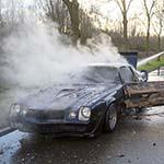 Chevrolet uit 1979 in vlammen opgegaan