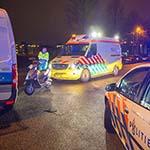 Man gewond bij eenzijdig ongeval op de Ammesty Internationalweg