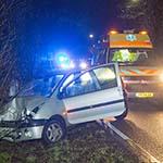 Automobilist gewond bij ongeval op de Zeeweg in Overveen