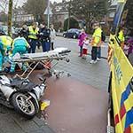 Scooterrijder gewond na botsing met auto op de Rijksstraatweg in Haarlem