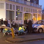 Fietser gewond bij aanrijding op de Zijlweg in Overveen