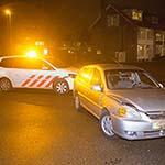 Auto's met elkaar in botsing op de Stresemannlaan in Haarlem