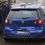 Kop-staart aanrijding met vier auto's op de Heemsteedse Dreef