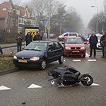 Twee gewonden bij aanrijding op de Julianalaan in Overveen