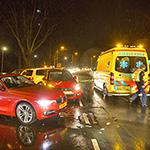 Veel schade en vertraging bij verkeersongeval in Driehuis