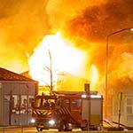 Zeer grote brand aan de Pettemerstraat in Alkmaar