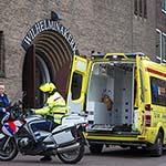 Vrouw gewond na val in Wilhelminakerk in Haarlem