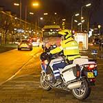 Zoektocht door politie na verdachte situatie in de Lange Nieuwstraat