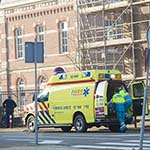 Fietsster komt ongelukkig ten val op de Kleverlaan in Haarlem