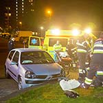 Man gewond bij ongeval in de Werfstraat in Haarlem