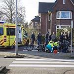 Fietsster gewond na ongeval op de Hagelingerweg in Santpoort-Noord