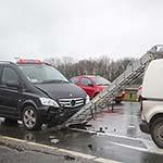 Zes auto's betrokken bij twee ongevallen op het Rotterpolderplein