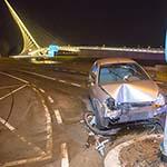 Automobilist aangehouden na verkeersongeval in Hoofddorp