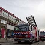 Brand in bedrijfspand aan de Hanepoel in Zwaanshoek