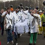 Protestbijeenkomst Tata Steel druk bezocht