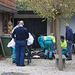 Man gewond na val van trap in tuin aan in Driehuis