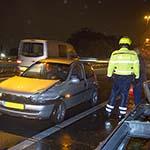 Gewonde bij ongeval op de N205 in Haarlem