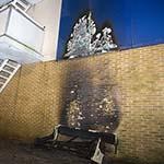 Brandstichting tegen flat aan het Spijkerboorpad in Haarlem