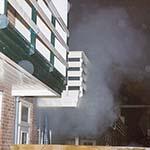 Flinke rookontwikkeling bij woningbrand aan de Begastraat in Haarlem