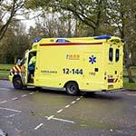 Meisje gewond na glijpartij op de Jan Gijzenkade