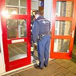 Object bij kinderdagverblijf in Haarlem-Noord naar binnen gegooid