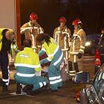Vrouw gewond bij kop-staart botsing bij de Rijksweg