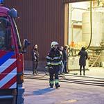 Nijverheidsweg afgesloten na brandmelding in chemisch bedrijf