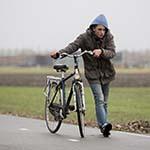 Storm in Hoofddorp: Niet vooruit te komen
