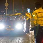 Drankrijders aan de kant gezet bij alcoholcontrole op het Frans Halsplein
