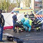 Motorrijder gewond na botsing met auto op de Belgielaan