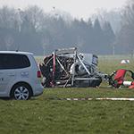 Helikoptercrash op vliegveld Hilversum