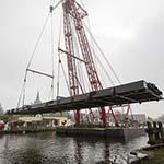 Reparatie balgstuw Ringvaart Haarlemmermeer
