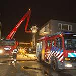 Middelbrand in autopoestbedrijf in Nieuw-Vennep