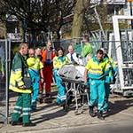 Bouwvakker gewond na val van hoogte in Haarlem