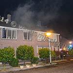 Veel rook bij keukenbrand in woning Wijk aan Duinerweg Beverwijk