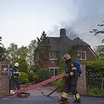 Grote brand in woonboerderij in Lijnden