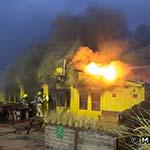 Grote brand in strandpaviljoen Que Pasa Playa in Zandvoort