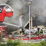 Explosie flat Beukenhorst Diemen