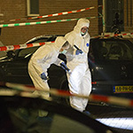 Man doodgeschoten in Amsterdam-Osdorp in de Wolbrantskerkweg