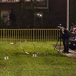 Politie lost waarschuwingsschoten bij vechtpartij Pieter Calandlaan Amsterdam