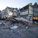 Winkelpand van Pearle ingestort in Den Bosch
