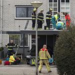 Man gewond na val op dakje op de Lange Sloot in Velserbroek